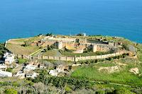 Fort Izzedin in Souda Bay Crete Greece