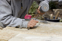 Sculptor and stonemason