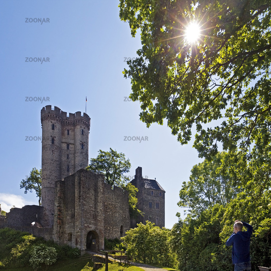 Kasselburg, Pelm, Vulkaneifel, Rhineland-Palatinate, Germany, Europe