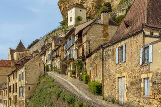Street in Beynac-et-Cazenac, France