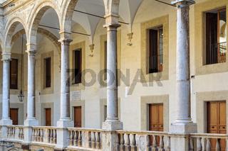 Loggia of Maqueda Courtyard - Palermo