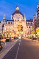 Antwerp train station Belgium