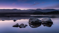 Sunrise at Loch Morlich, Scotland