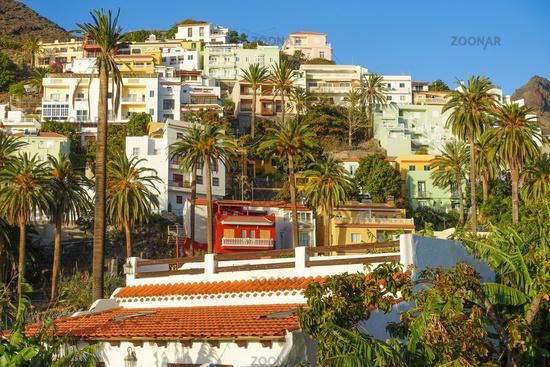 Beautiful holiday rentals in La Calera, Valle Gran Rey, La Gomera, Spain