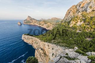 Mallorca Aussichtspunkt Es Colomer, Majorca Viewpoint Es Colomer