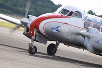 Essen/Germany: 2017-06-18: classic de Havilland