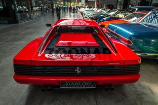 Sports car Ferrari Testarossa, 1991.