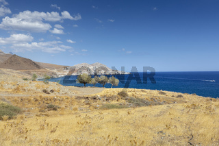 Landschaft bei Lendas an der Südküste von Kreta, Griechenland