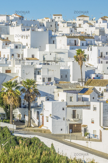 The Town Of Vejer de la Frontera, Andalucia, Spain