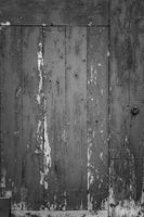 Wood Dark background texture. Blank for design. Black wood with cracked paind background old panels