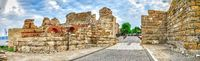 Entrance to the Old Town of Nessebar, Bulgaria