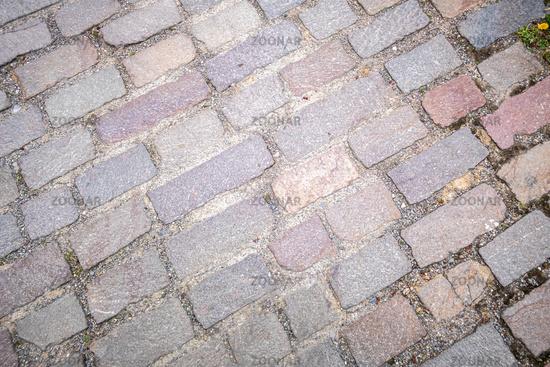 cobblestone street background texture