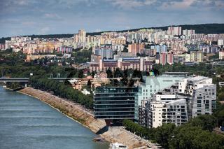 City of Bratislava in Slovakia