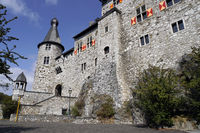 Stolberg castle over the historic old town