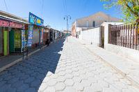 Bolivia Uyuni shops in the historic center