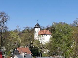 Mittelalterliche Burg in Chemnitz in Sachsen