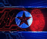 Cyber Attacks Risk From North Koreans 3d Illustration