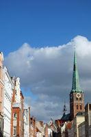 Sankt Jakobi church in Lübeck