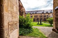 beautiful garden in Trier