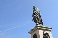 Salzburg - Mozart monument, Austria