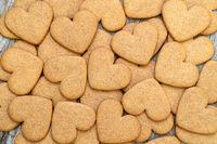 Gingerbread cookies background