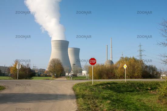nuclear power Gundremminen Germany