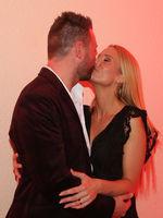 Sonja Liebing mit Ehemann Markus beim Adventsfest der 100000 Lichter am 30.11.2019 in Suhl