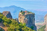 Holy Trinity monastery in Greece