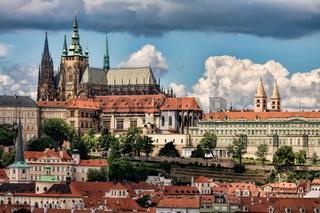 Prag mit Veitsdom