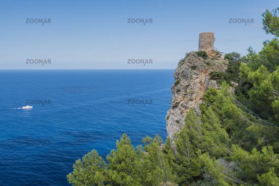 Majorca Landscape northern coastal highway, Mallorca