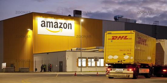 Amazon Logistics Centre DTM2, Dortmund, on the site of the former Westfalenhuette, Germany, Europe