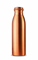 Traditional Indian Copper Mineral Water Bottle