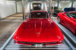 Sports car Chevrolet Corvette Sting Ray (C2).