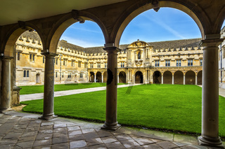 Back Of Rear Quadrangle St. John's College Oxford UK