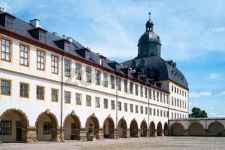 Innenhof des Schlosses Friedenstein in Gotha