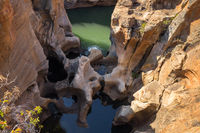 Bourke Luck Potholes, Rock formation, Blyde River Canyon, South Africa