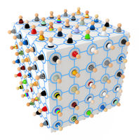 Cartoon Crowd, Link Cube