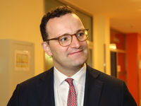 German Federal Minister of Health Jens Spahn CDU