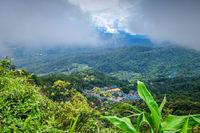 Doi Pui Mong hill tribe village landscape, Chiang Mai, Thailand
