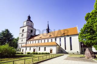 St.-Marien-Kirche, Barby, Sachsen-Anhalt, Deutschland