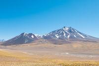 Chile Atacama desert Menique volcan