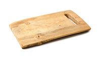 Rustic wooden cutting kitchen board