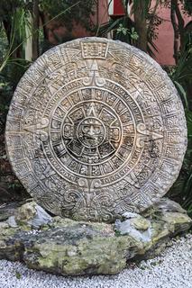 Maya Calender Yucatan Mexico