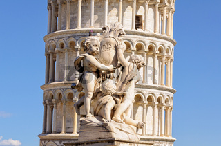 Cherubs and the Leaning Tower - Pisa
