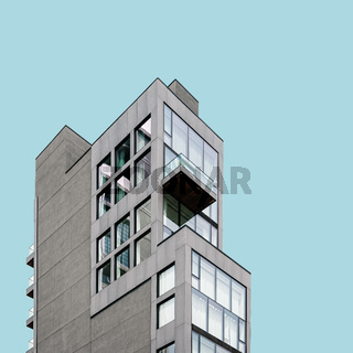 Modern architecture building in New York City