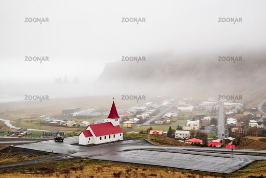 Church in Vik i Myrdal, Iceland