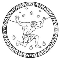 Steal the golden apples of the Hesperides. 12 Labours of Hercules Heracles