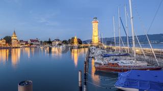 Hafeneinfahrt Lindau | Bodensee
