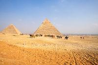 horse ride in the desert Cairo Egypt