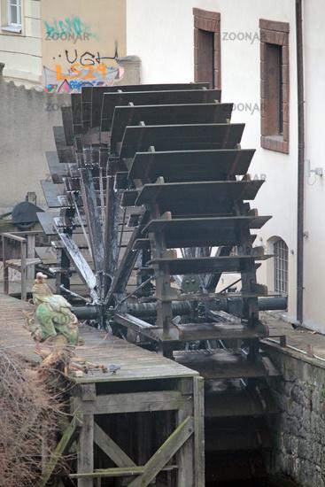 Wasserrad in Prague